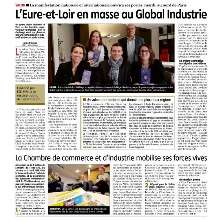21-03-2018-L'EURE ET LOIR en masse au Global Industrie